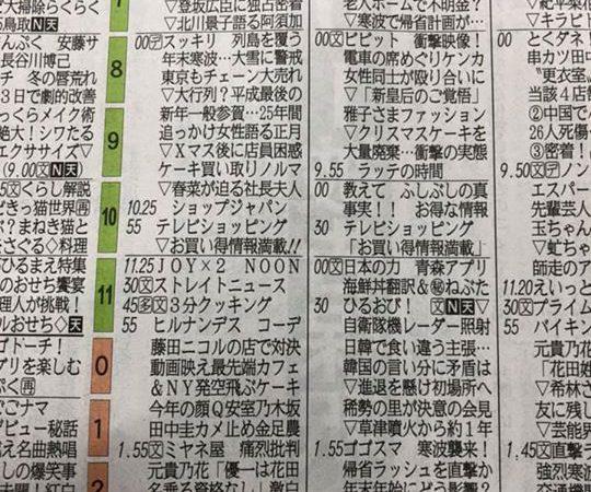 本日11:00〜再び山陰放送で「日本のチカラ」が放送です。