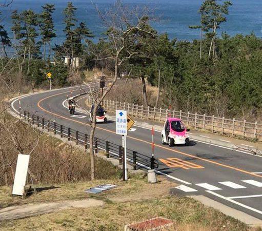 鳥取砂丘でのジオコムス 無料試乗会。